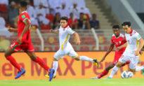 Thất bại 1-3 trước Oman, Việt Nam chưa có điểm nào sau 4 trận