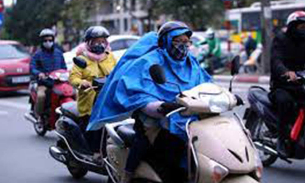 Thời tiết: Bắc Bộ chuyển mưa rét, Trung bộ mưa lớn