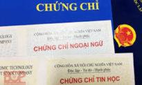Bỏ yêu cầu bắt buộc về chứng chỉ ngoại ngữ, tin học