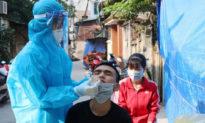 'Ổ dịch' Quốc Oai phát hiện thêm 7 F0 qua sàng lọc ho sốt ngoài cộng đồng